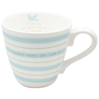 2D0072 Message Mug (Blue - 270ml)