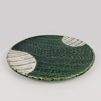 3P0152 Forest Green Flat Plate D25 H3
