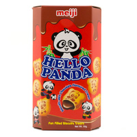 MEIJI Hello Panda Chocolate flavoured Filling 50g