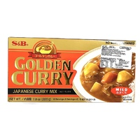 S&B Golden Curry Hot 198g | ゴールデンカレー 辛口 198g